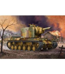 1:35 Германски танк от Втората световна война Pz.Kpfm KV-2 754(r) Tank