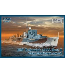 1:700 Ескортен кораб ORP KRAKOWIAK 1944 Hunt II class destroyer escort