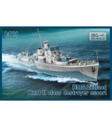 1:700 Ескортен кораб ORP SLAZAK 1943 Hunt II Class Destroyer Escort