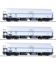 Сет от 3 хладилни вагона на БДЖ, епоха III