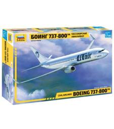 1:144 Самолет Боинг 737-800 (BOEING 737-800)