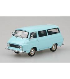 Skoda 1203 Mikrobus - Turquoise Blue