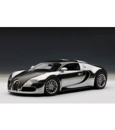 Bugatti Veyron 16.4 2008 Pur Sang Edition (black/aluminium casting) [alte Artikelnummer 70909]