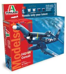 1:72 Аметрикански изтребител Воут Ф4У-5Н Корсар (Vought F4U-5N CORSAIR), Втора световна война – Model Set
