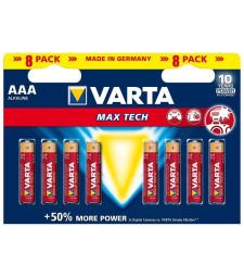 Батерия усилена алк. VARTA MAXI TECH LR 6 AA оп. 4+4 броя