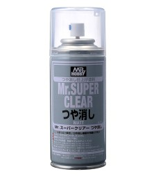 B-514 Лак на спрей Mr. Super Clear Flat Spray (170 ml)