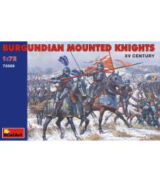 1:72 Бургундски рицари - XV век - 20 фигури