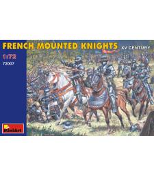 1:72 Френски рицари - XV век - 20 фигури
