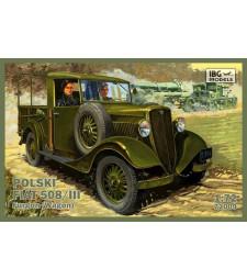 1:72 Товарен камион Polski Fiat 508/III Furgon wagon