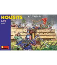 1:72 Хусити, XV век - 24 фигури