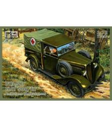 1:72 Линейка Polski Fiat 508/III