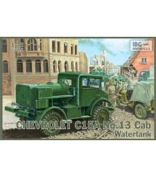 1:72 Камион цистерна за вода Chevrolet C15A No.13 Cab Watertank