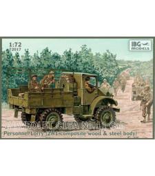 1:72 Брониран камион за превоз Chevrolet C15A No.11 Cab Personnel