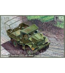 1:72 Камион с общо предназначение Chevrolet C15A No.11 Cab General