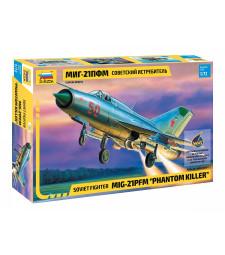 1:72 Съветски изтребител МИГ-21 ПФМ MIG-21 PFM SOVIET FIGHTER
