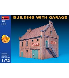 1:72 Сграда с гараж