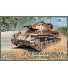 1:72 Шведски лек танк Stridsvagn M/40L