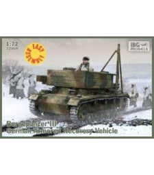 1:72 Германска ремонтно-евакуационна машина Bergepanzer III