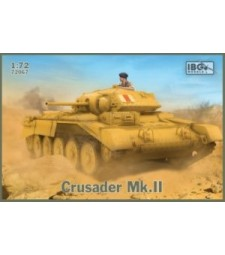 1:72 Британски танк Crusader Mk.II