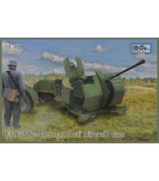 1:72 Германско противовъздушно оръдие Flak 38