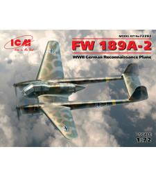 1:72 Германски разузнавателен самолет Фоке-Вулф Фв 189А-2 (FW 189A-2) от Втората световна вйна