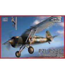 1:72 Самолет PZL.24G на въоръжение в гръцката армия