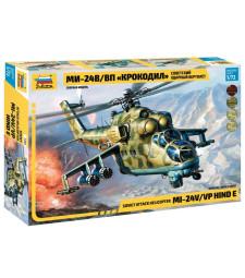 """1:72 Руски хеликоптер Мил Ми-24 В/ВП """"Hind E"""" /Mi-24/"""