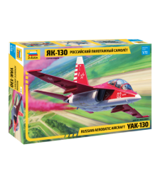 1:72 Руски тренировъчен самолет ЯК-130 (YAK-130 TRAINER)