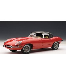 JAGUAR E-TYPE ROADSTER SERIES I 3.8 (RED)