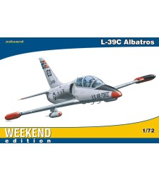 1:72 Чешки учебно-тренировъчен самолет Aero L-39C Albatros