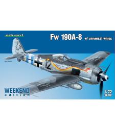 1:72 Германски изтребител Fw 190A-8 w/ universal wings