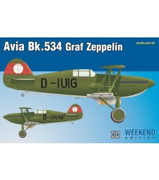 1:72 Чехословашки изтребител-биплан Avia Bk-534 Graf Zeppelin
