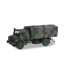 1:87 Mercedes-Benz Zetros armoured 4x4 camouflage markings
