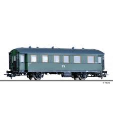 Пътнически вагон 2-ра класа Bip (ex BCi 34), DR, епоха III