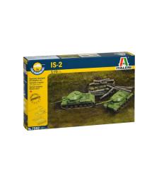 1:72 Съветски танк ИС-2 – Бърза сглобка – 2 броя (JS-2 STALIN - FAST ASSEMBLY - 2 pcs)
