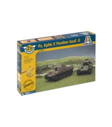 1:72 Гермаснки танк Pz.Kpfw.V PANTHER, комплект от 2 модела - бърза сглобка