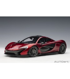 McLaren P1 2013 (volcano red) composite model/full openings (composite model/full openings)