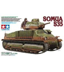 1:35 Френски среден танк Сомуа С35 (French Medium Tank Somua S35) - 1 фигура