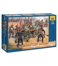 1:72 Френска пехотна артилерия, 1810-14 (FRENCH FOOT ARTILLERY 1810-14)