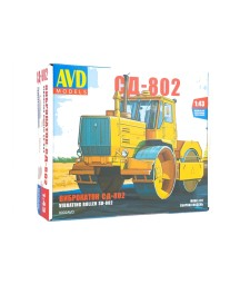 Asphalt Roller SD-802 (T-150k) - Die-cast Model Kit