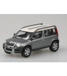 Skoda Yeti Concept Car - Silver Gray Metallic - ПОВРЕДЕН