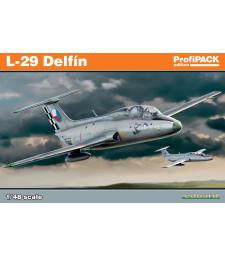 1:48 Чехословашки реактивен самолет Аеро Л-29 Делфин (L-29 Delfin)
