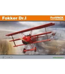 1:48 Германски изтребител Фокер Др.I (Fokker Dr.I)