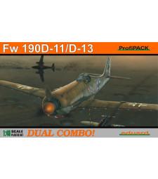 1:48 Германски изтребител Fw 190D-11/D-13 DUAL COMBO