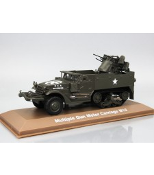 Multiple Gun Motor Carriage M16 (WWII Collection by EAGLEMOSS)
