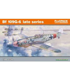 1:48 Bf 109G-6 Late Series