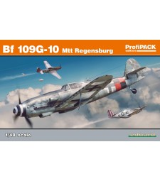 1:48 Германски изтребител Месершмит Bf 109G-10 Mtt Regensburg