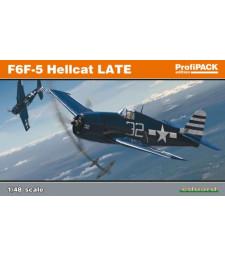 1:48 Американски изтребител Груман Ф6Ф-5 Хелкат, късна версия (F6F-5 late)