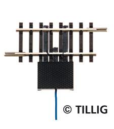 Релса със захранваща букса + кабел 41,5 мм, габарит 12 мм