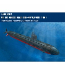 1:350 Американска подводница Los Angeles Class SSN-688/VLS/688I *3 IN 1
